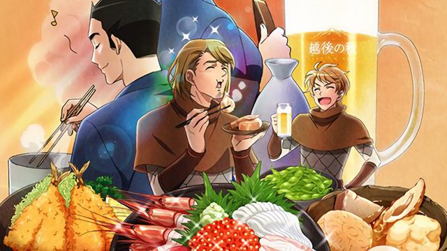 Annunci Crunchyroll: Isekai Izakaya - Japanese Food from Another World?