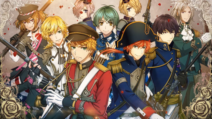 The Thousand Noble Musketeers, trailer per le armi bishounen