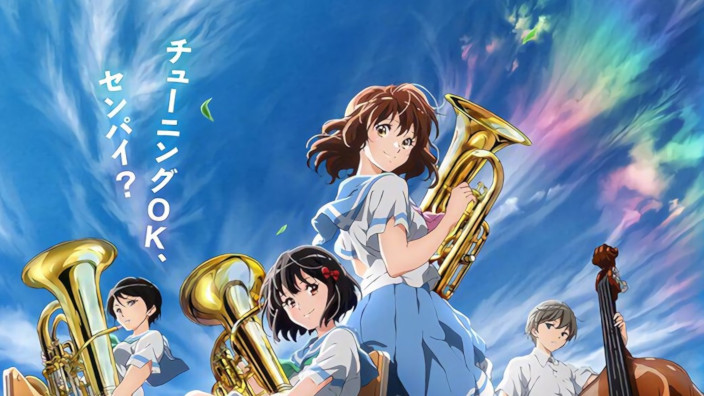 Novità per Hibike! Euphonium, Girly Air Force e Queen's Blade!