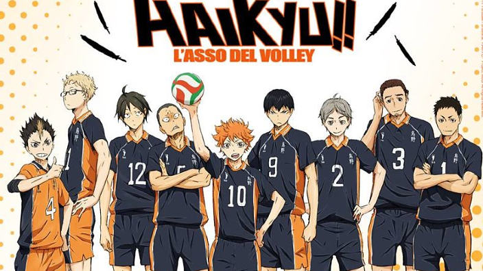 Haikyuu!!: l'anime sarà disponibile su Sky Go e Sky on-demand