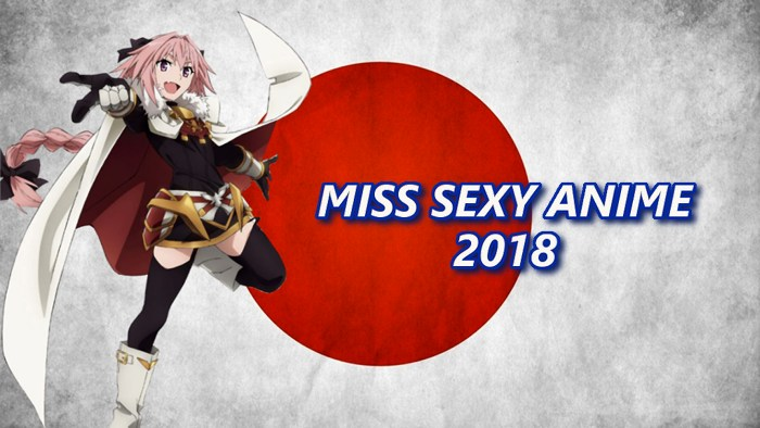 Miss Sexy Anime 2018 - Turno 1 Gruppi 5-6