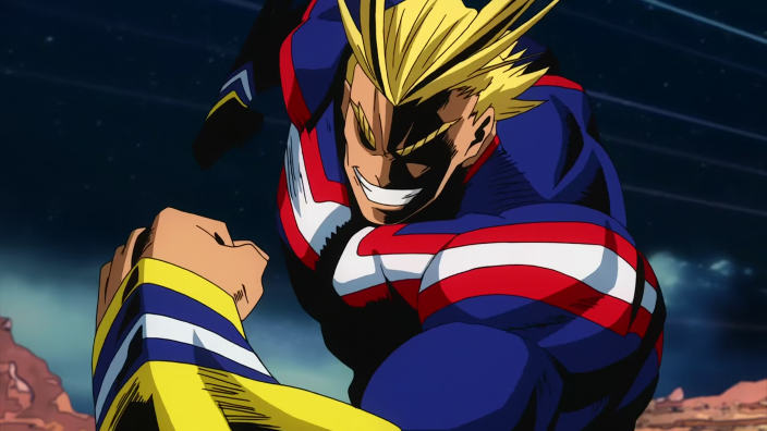 My Hero Academia: il character designer Umakoshi disegna All Might