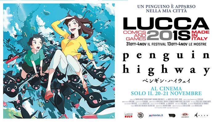 Dynit annuncia Penguin Highway, ultimo film dello Studio Colorido