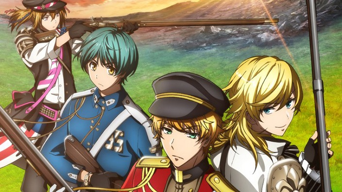 Trailer per The Thousand Noble Musketeers, Ongaku Shojo e K: Seven Stories!