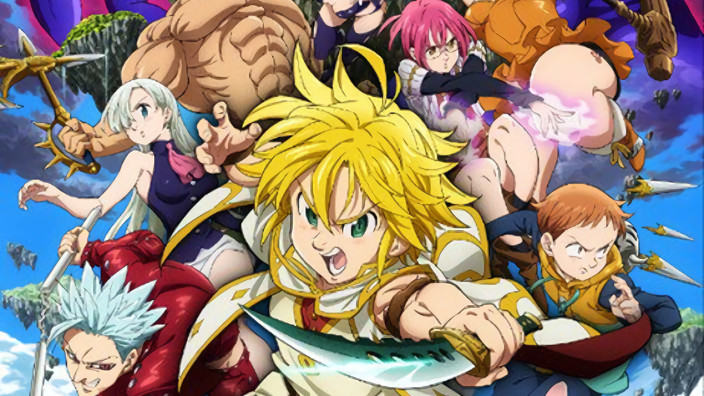 Novità e trailer per il film di The Seven Deadly Sins e i sequel di FLCL!