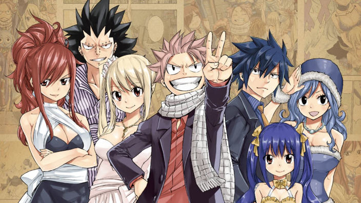 Visual per l'ultima stagione di Fairy Tail