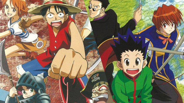 20 anni fa uscivano i primi anime di One Piece e Hunter x Hunter