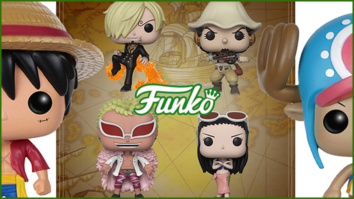 Funko Pop! di One Piece, ora in pre-order Sanji, Usopp, Flamingo e Nico Robin