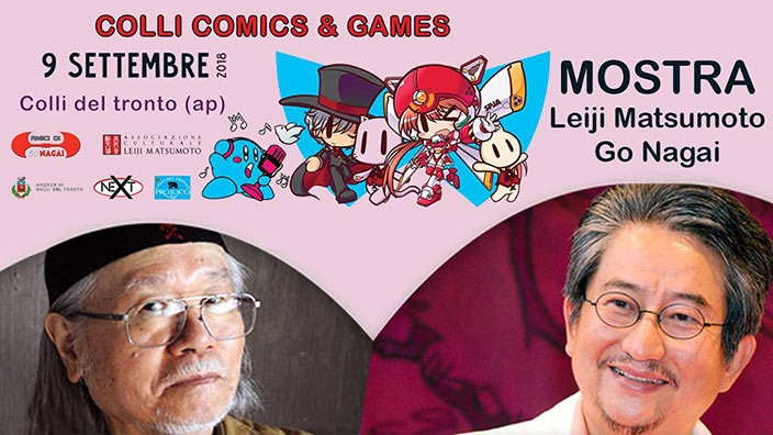 Mostra di originali di Go Nagai e Leiji Matsumoto al Colli Comics and Games