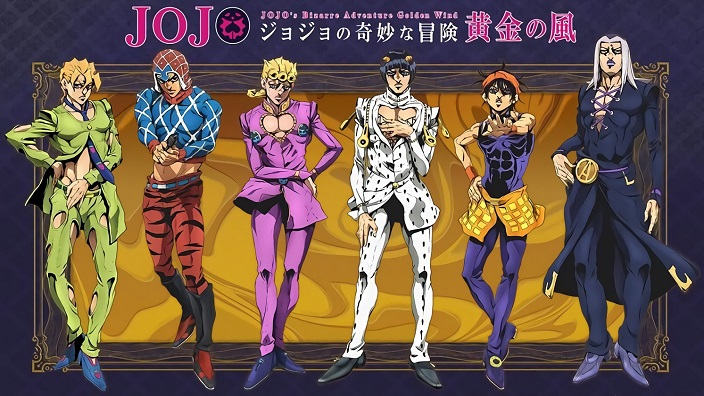 Novità per JoJo Vento Aureo, The Prince of Tennis OVA e Bungo Stray Dogs: Dead Apple