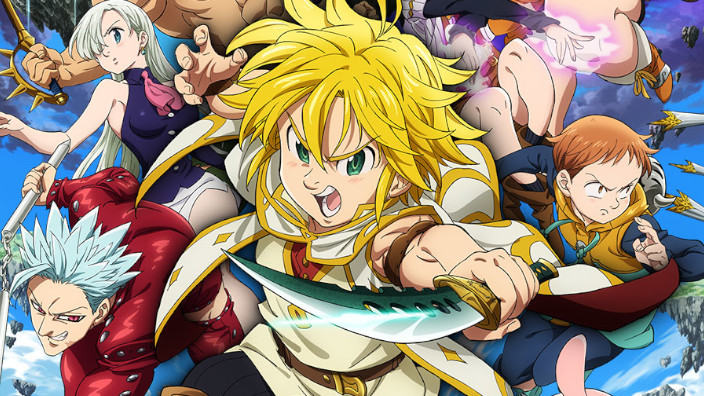 Netflix: The Seven Deadly Sins: Revival of Commandments, Jushinki Pandora e Piano no Mori ad ottobre!