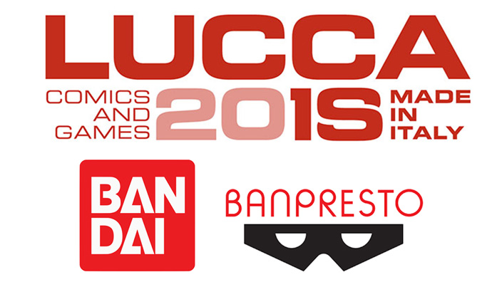 Bandai a Lucca Comics and Games