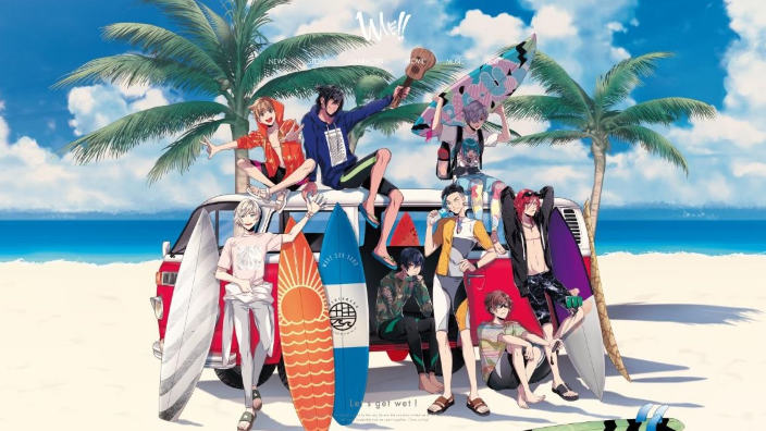 Wave!! arriva l'anime sul surf, Let's get wet!