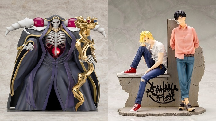 Action figures in pre ordine per Overlord III e Banana Fish