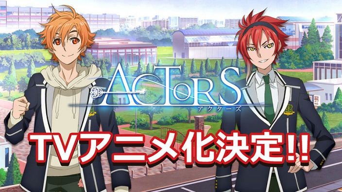 Annunci per Actors, ARP e Tsukiuta The Animation 2