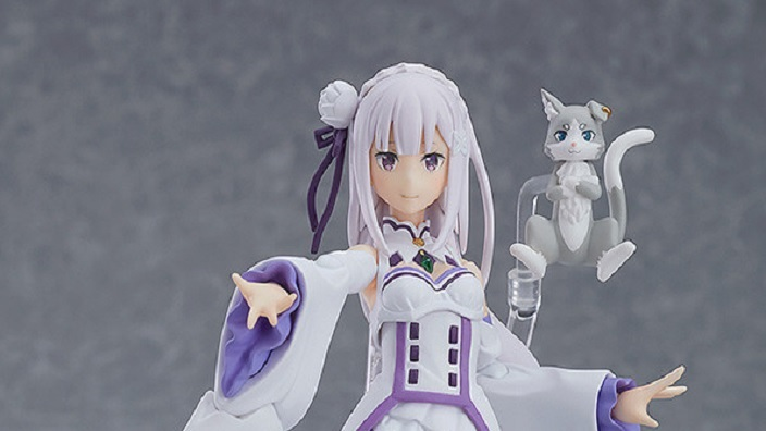 Emilia e All Might: in pre order le figures