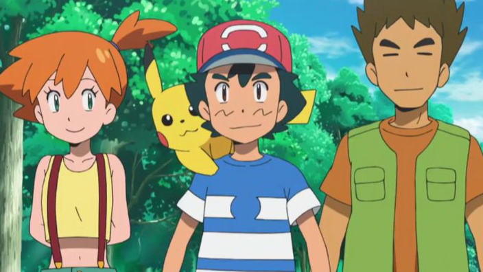 Pokemon Sole e Luna: nell'anime tornano Misty e Brock