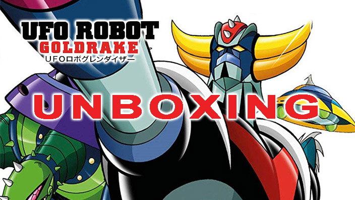 Unboxing: Ufo Robot Goldrake Blu-ray Box volume 1
