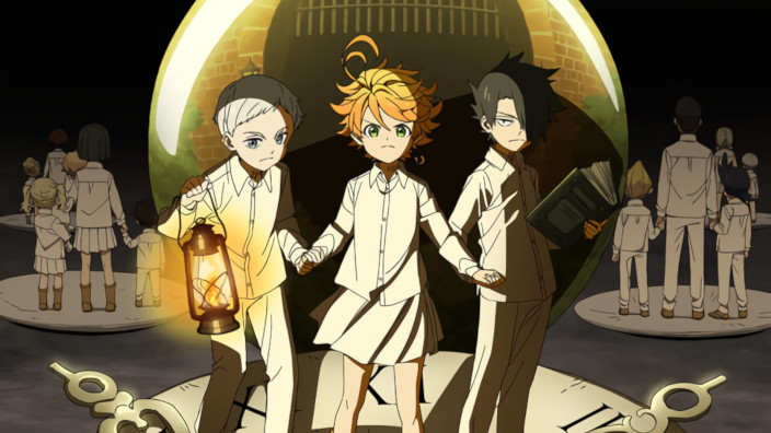 Trailer: The Promised Neverland,  Koya no Kotobuki e Pastel Memories
