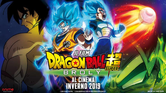 Dragon Ball Super: Broly, in rete il trailer in italiano del film