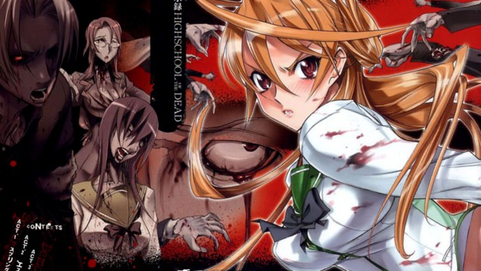 Non sarà facile far continuare Highschool of the Dead