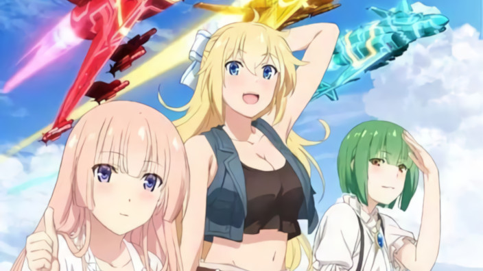 Girly Air Force, trailer per i combattimenti aerei tra creature e ragazze
