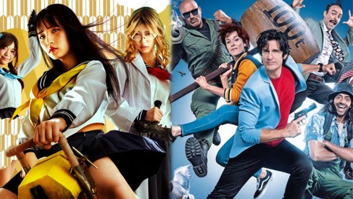 Next Stop Live Action: l'horror School Live!, City Hunter, zombie e guerre