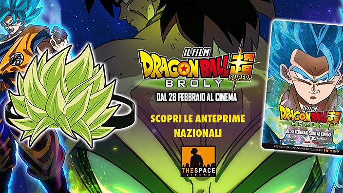 Dragon Ball Super: Broly, incontra i doppiatori del film nei cinema The Space