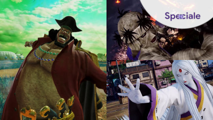 <strong>Jump Force</strong> - Schede Personaggi Parte 2