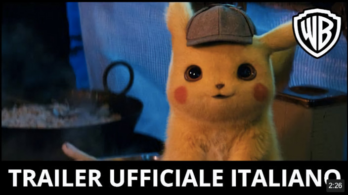 Detective Pikachu: nuovo trailer in italiano disponibile