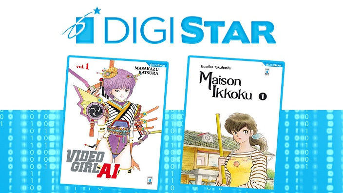 Star Comics annuncia Video Girl Ai e Maison Ikkoku in formato digitale