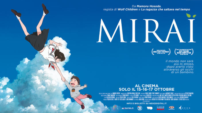 Cartons on the Bay 2019: il film Mirai di M. Hosoda vince due premi