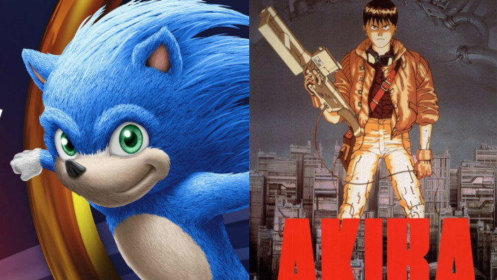Live-action: Sonic the Hedgehog rimandato al 2020, Akira uscirà nel 2021