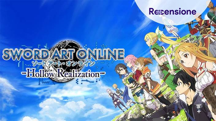 <strong>Sword Art Online Hollow Realization</strong> - Recensione Switch