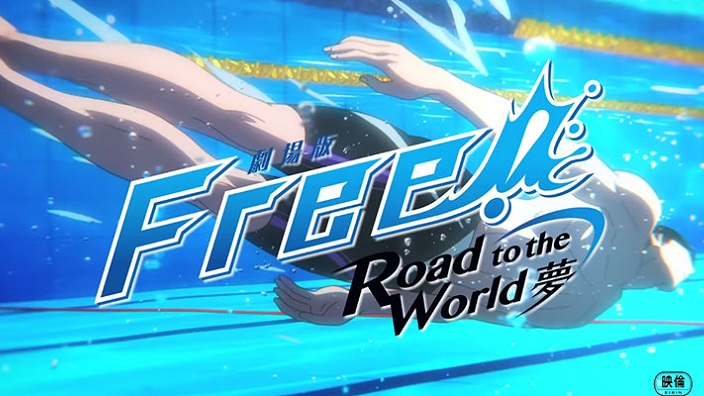 Free!: nuovo trailer per Road to the World