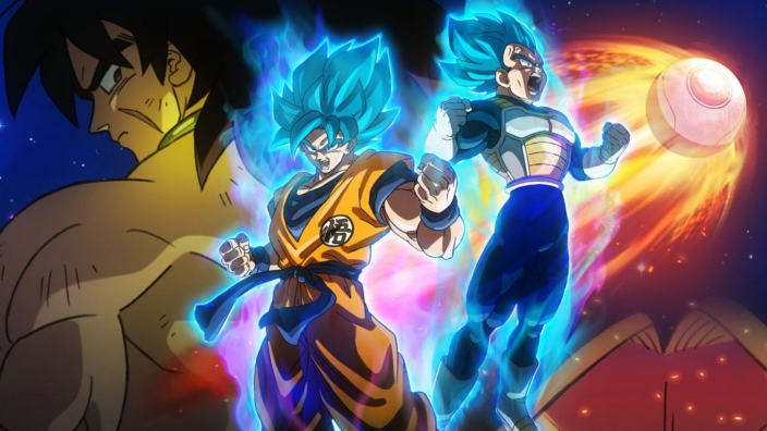 Dragon Ball Super: Broly primo tra le vendite home video