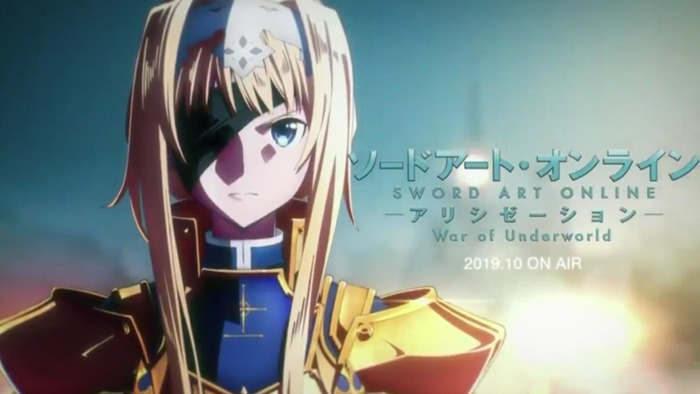 SAO Alicization - Prime immagini per War of the Underworld