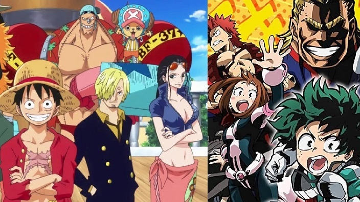 One Piece e My Hero Academia si mostrano in nuovi spinoff