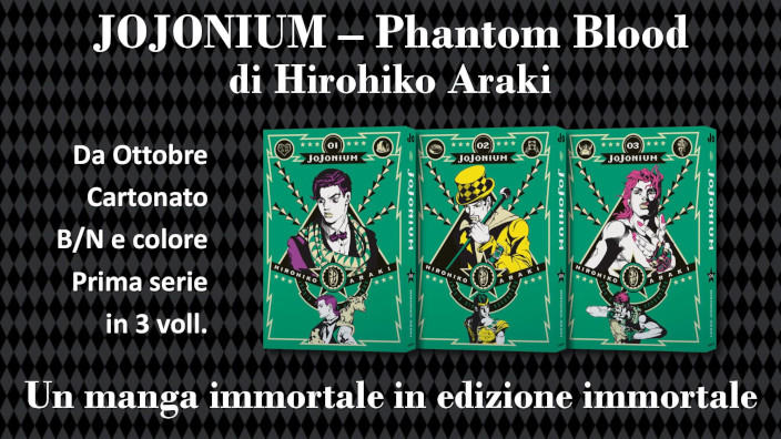 Star Comics annuncia JoJonium - Phantom Blood