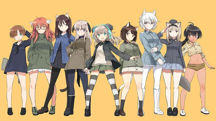 Luminous Witches, primo trailer e visual per lo spin-off di Strike Witches!