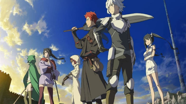 Danmachi: Yamato Video annuncia la seconda stagione in streaming
