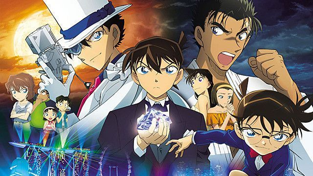 Detective Conan: Fist of Blue Sapphire, l'ultimo film batte ogni record di incassi del franchise