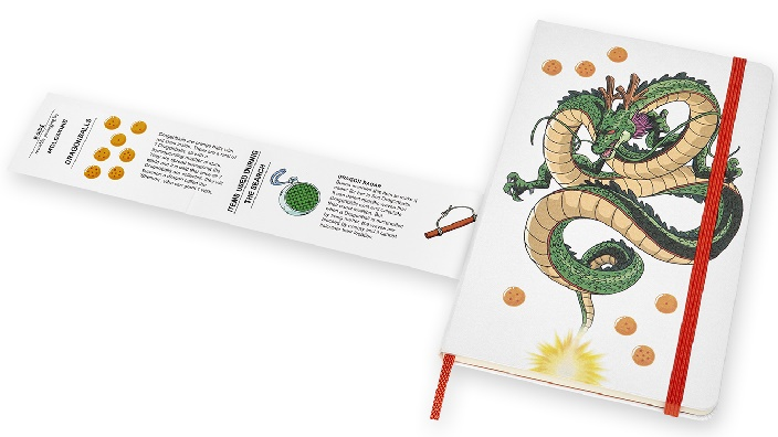 Dragon Ball: collaborazione con Moleskine