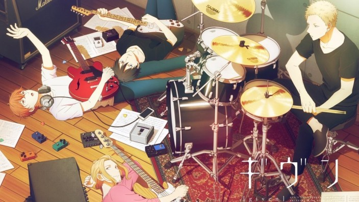 <b>Given</b>, recensione dell'anime musicale Boys' Love di NoitaminA