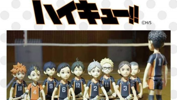 Haikyuu!!: OAD speciale con i personaggi in stop-motion!