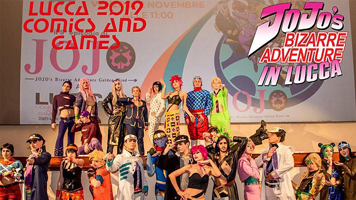 Lucca 2019: JoJo Week, gare cosplay e parate anime