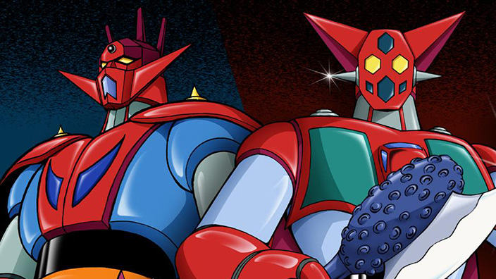 Getta Robot e Getta Robot G DVD Box Yamato Video, aperto preorder