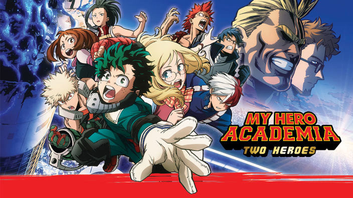 Il film My Hero Academia: Two Heroes in prima tv su Italia 2