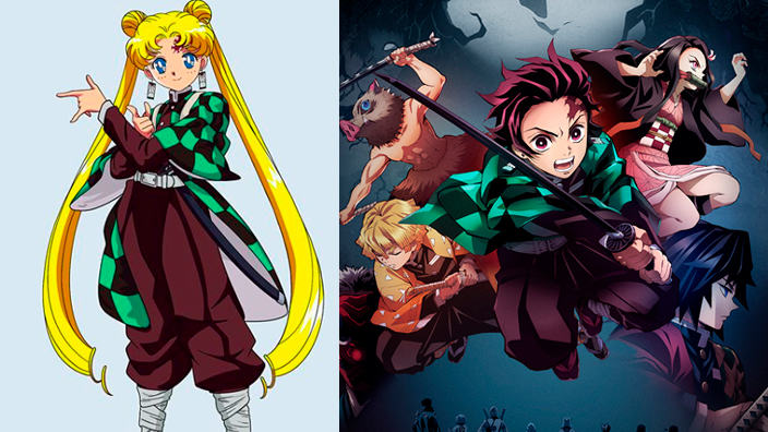 Sailor Moon nelle vesti di... Demon Slayer!