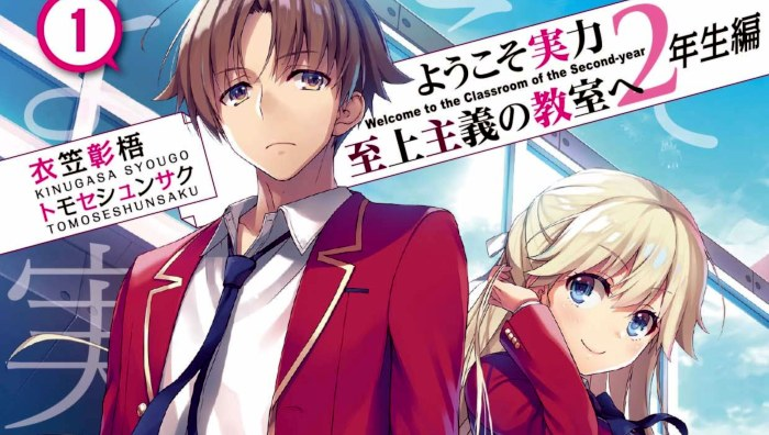 Light Novel Ranking: la classifica giapponese al 26/01/2020
